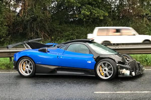 This One-Off Pagani Zonda PS 760 Just Lost Its Nose