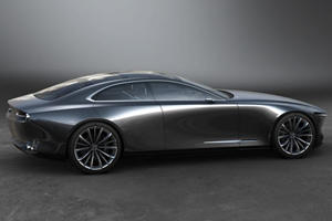 Mazda's New Vision Concept Is A Gorgeous Preview Of What's Next