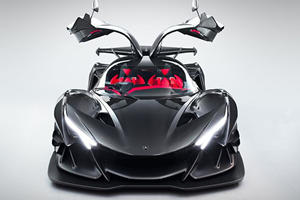 Apollo Intensa Emozione Is An Extreme Track Toy With 780-HP On Tap