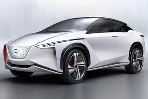 Nissan IMx Zero-Emission Concept Is A 430 HP, 373-Mile Range Future SUV