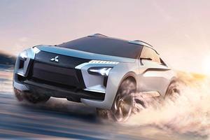 Mitsubishi e-Evolution Concept Reveals The Evo's Future Fate