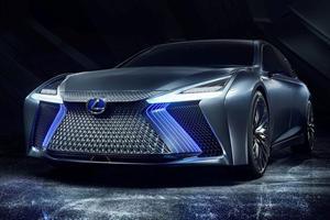 Lexus Debuts Autonomous LS+ Concept With Radical LFA-Esque Looks