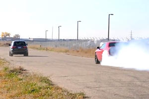 Dodge Challenger Hellcat Can't Put Down Power To Save Its Own Pink Slip