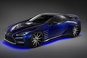 Lexus Reveals Limited Edition Models Inspired By Marvel's Black Panther