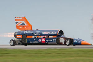Bloodhound SSC Completes First Test Run Before 1,000 MPH Record Attempt
