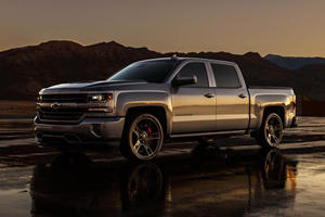 The Chevy Silverado Performance Concept Is A Supercharged V8 Delight