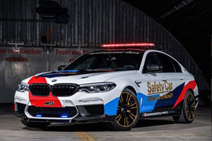 New BMW M5 MotoGP Safety Car Ready For Action