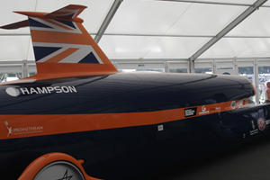 Bloodhound SSC Set to Break the 1,000 mph Barrier