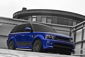 Imperial Blue Kahn Cosworth Range Rover by A. Kahn Design