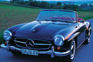 SL Evolution, Part 3: For Relaxation, the Mercedes 190 SL Was the Best