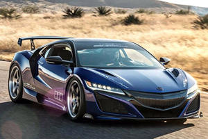 Acura NSX Dream Project Is A 610-HP Beauty