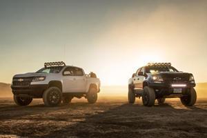 Chevrolet Debuts A Pair Of Extreme Colorado ZR2s At SEMA