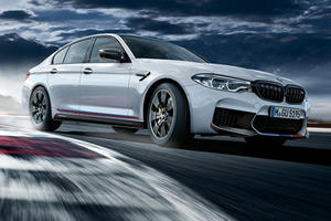 BMW M5 Receives Sporty Makeover Using M Performance Parts