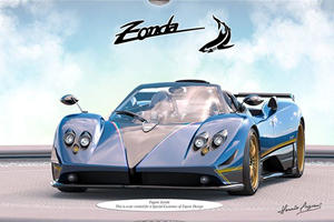 Pagani Builds Yet Another Bespoke Zonda For A Rich Customer