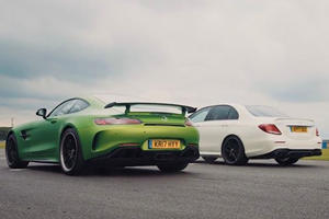 How Different Can The AMG GT R And AMG E63 S Be If They Share Engines?