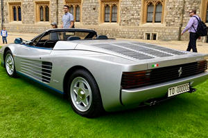 This Is The Only Ferrari Testarossa Spider In The World
