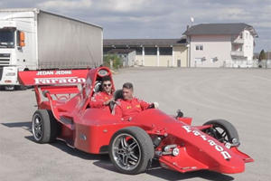 It Took This Guy 1,000 Hours To Build His Own Formula 1 Car
