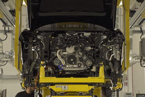 Lamborghini Urus Shows Off Its V8 Engine In New Teaser