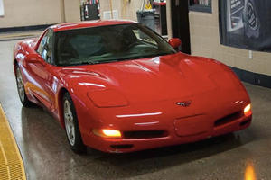This Corvette That Clocked Up Over 700,000 Miles Now Lives In A Museum