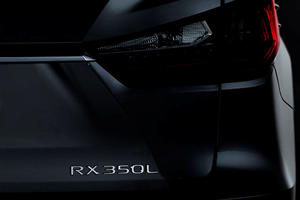 Lexus To Gun For BMW By Unveiling Three-Row RX L In LA