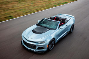 2018 Chevrolet Camaro ZL1 Convertible Review