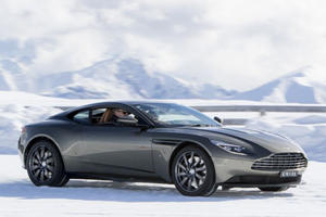 Aston Martin Throws A Japanese Ice Show Starring The DB11 Volante