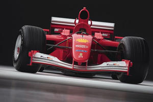 Someone Paid $7.5 Million For Michael Schumacher's 2001 Ferrari F1 Car