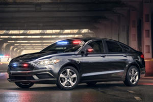 Ford Reveals New Plug-In Hybrid Pursuit-Rated Cop Car