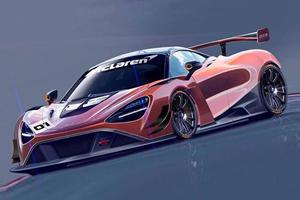 McLaren 720S Race Car In The Works