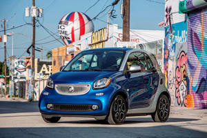 2018 smart fortwo electric drive coupe Review