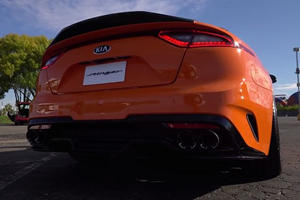 Hear How Amazing The Kia Stinger Sounds With A Borla Exhaust
