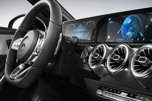 The New Mercedes A-Class Has A Ludicrously Luxurious Interior