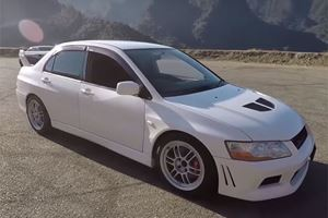 This 400-HP, Right-Hand Drive Mitsubishi Evo Is Illegal In America