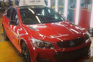 The Last Holden Ever Just Rolled Off The Assembly Line In Australia