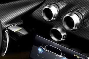 Hennessey Shows Off Venom F5 Hypercar's Carbon Fiber Dashboard