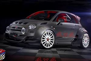 This Is The Most Extreme Fiat 500 We've Ever Seen