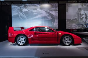 There's Over $180 Million Worth Of Ferraris On Display Right Now