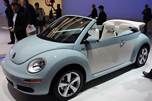 Volkswagon New Beetle Convertible - Final Edition