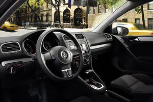 Volkswagen Golf at New York Auto Show