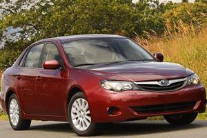 Subaru Impreza Sedan - One of the Safest Small Cars Available