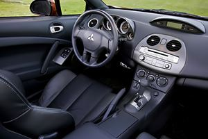 2011 Mitsubishi Eclipse Spyder Review: Back Seat Still Cramped