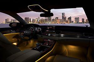 A8 Interior Sets New Luxury Standard