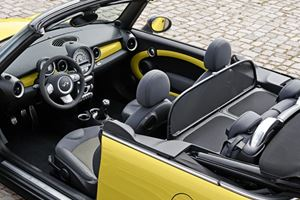 Mini Cooper S Convertible - Open Top Compact