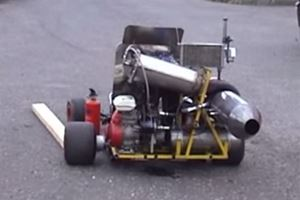 Jet-Powered Go-Kart Hasn't Yet Exploded