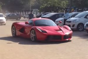 This is the Only LaFerrari to Touch the Soil of India