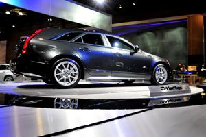 New York Auto Show's Star: Cadillac CTS-V Sport Wagon