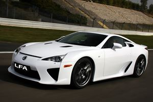 First Look: 2011 Lexus LFA