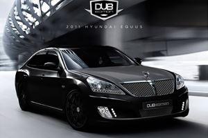 SEMA Show: DUB Magazines Custom Hyundai Equus Preview