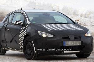 Spied: Vauxhall Astra VXR