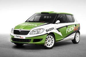 Skoda Fabia R2 Rally Car